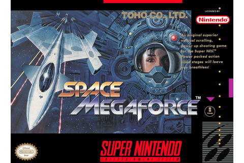 Space Megaforce SNES Super Nintendo