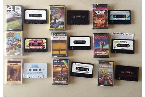 9x ZX Spectrum cassettes (poor condition) inc. Stonkers ...