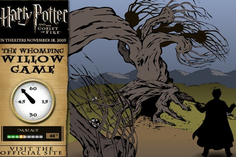 Harry Potter The Whomping Willow Game - Magic games ...