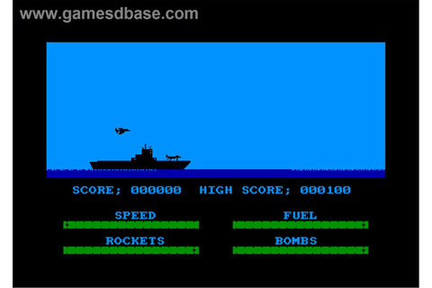 Harrier Attack on the Amstrad CPC | Video game heaven ...