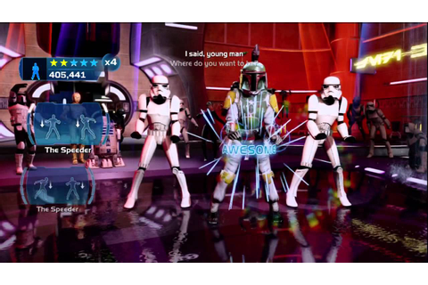 Kinect Star Wars: Galactic Dance Off - Empire Today ...