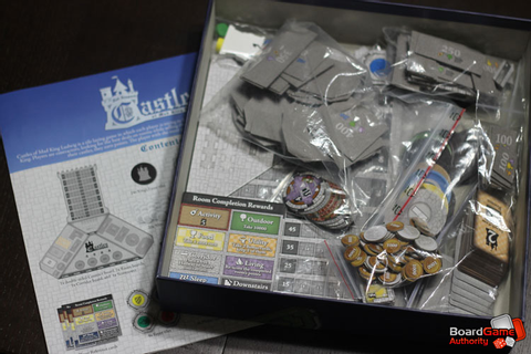 Castles of Mad King Ludwig Review, Tile Placement Game