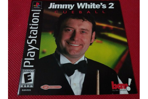 Jimmy White's Cueball 2 Playstation Instruction Booklet ...