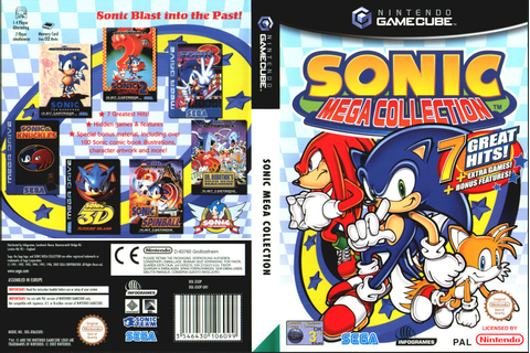 Captain Williams =/\= | Sonic Mega Collection | SEGA 2003 ...