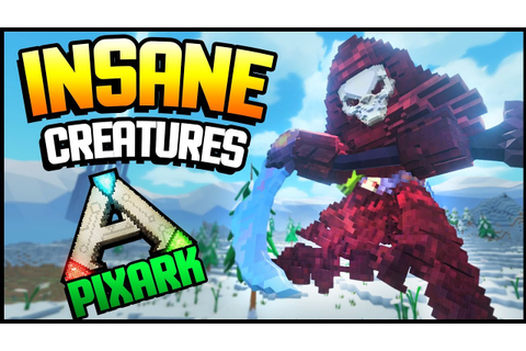 PixArk - THIS GAME HAS INSANE CREATURES! SPECIAL YOUTUBER ...