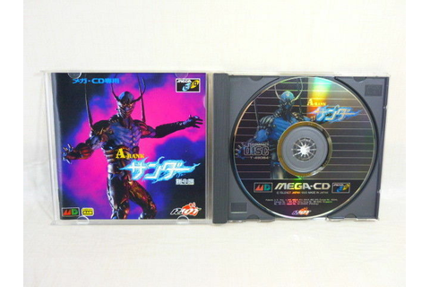 A RANK THUNDER Mega CD SEGA JAPAN Video Game mcd ...