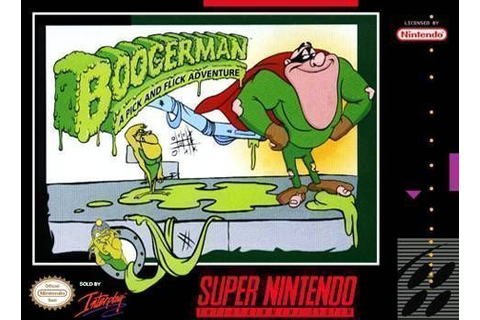 Boogerman - A Pick And Flick Adventure ROM - Super ...