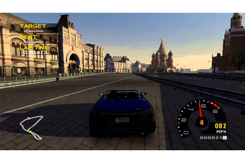 Project Gotham Racing 2 - Renault Spider at Moscow - YouTube