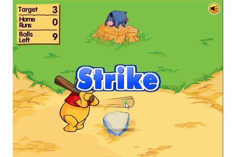 Winnie The Pooh's Home Run Derby | Free Download Flash Games
