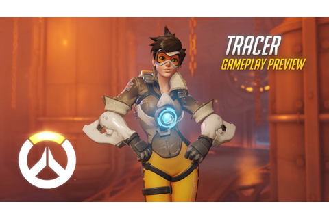 Tracer Gameplay Preview | Overwatch | 1080p HD, 60 FPS ...