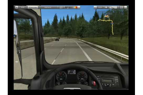 German Truck Simulator - gameplay - YouTube