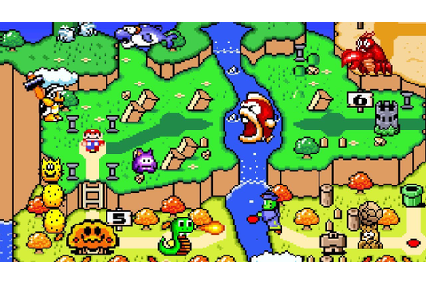 New Super Mario World 2: Around The World (1of3) - YouTube
