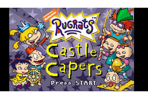 Rugrats: Castle Capers.... A Good GBA Game (Part 1) - YouTube