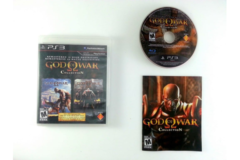 God of War Collection game for Playstation 3 (Complete ...