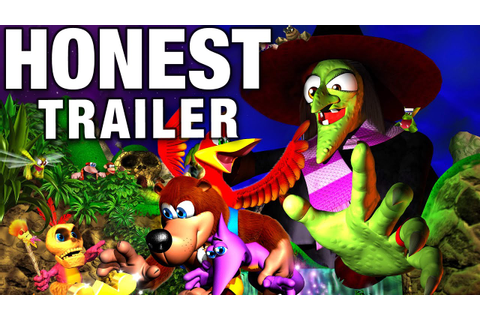 BANJO-KAZOOIE (Honest Game Trailers) - YouTube