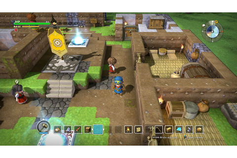 Dragon Quest Builders: Quick Look - YouTube