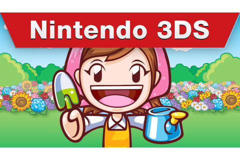 Nintendo 3DS - Gardening Mama 2: Forest Friends - YouTube