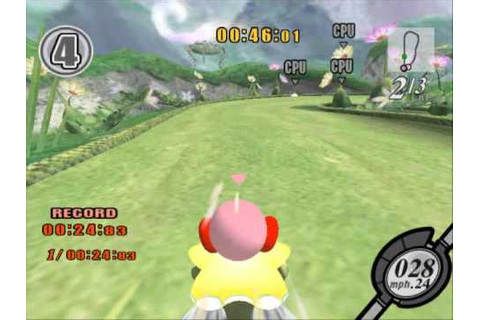 Kirby Air Ride - Race Gameplay - YouTube