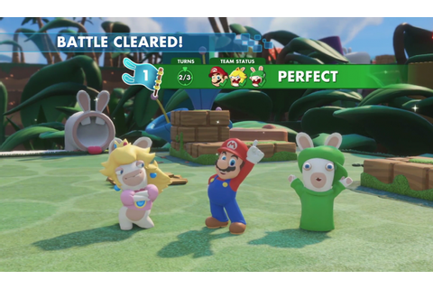 Mario + The Lapins Crétins Kingdom Battle Preview ...