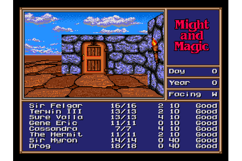 Might and Magic 2 - Gates to Another World Download Game ...