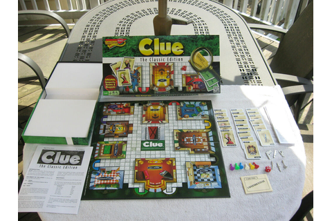 Clue The Classic Edition Detective Board Game 2013 ...