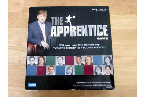 The Apprentice Game - Game Night Guys