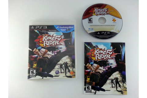 Kung Fu Rider game for Playstation 3 (Complete) | The Game Guy