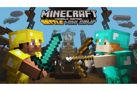 Minecraft Tumble mini-game launches today - PlayStation ...