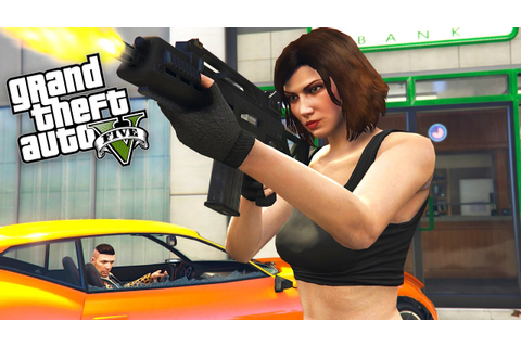 GTA 5 HEIST - ROBBING A BANK w/ TYPICAL GAMER!! - YouTube
