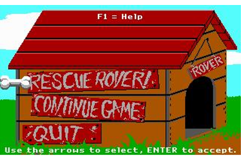 Rescue Rover Download (1991 Puzzle Game)