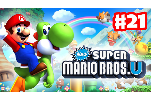 New Super Mario Bros. U - Walkthrough Part 21 - P-Acorn ...
