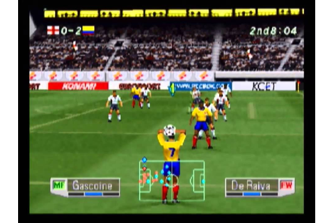 Colombia vs England - International Superstar Soccer Pro ...