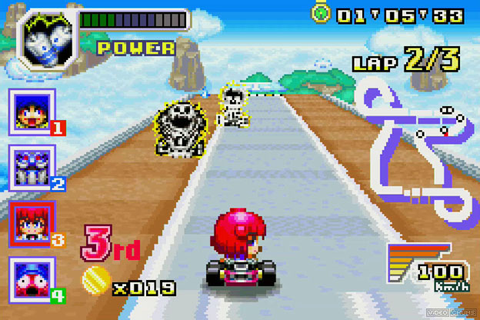 Konami Krazy Racers Review | GBA WiiU | Video Chums