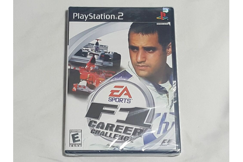 NEW F1 Career Challenge Playstation 2 Game SEALED PS2 EA ...
