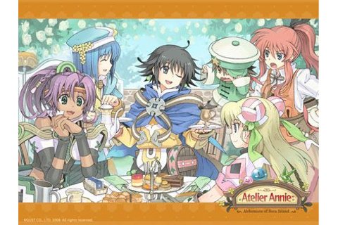 Atelier Annie: Alchemists of Sera Island WALLPAPER ...