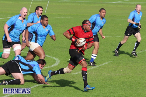 Denton Hurdle Memorial Rugby Game, BRFU Bermuda February ...