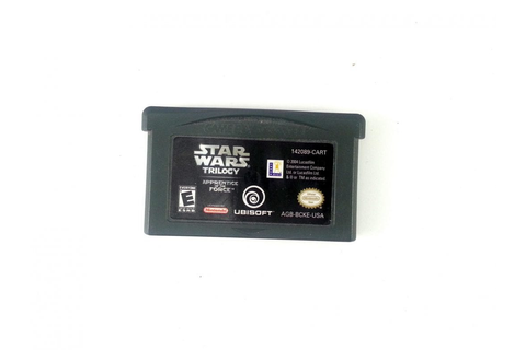 Star Wars Trilogy Apprentice Of The Force game for GameBoy ...