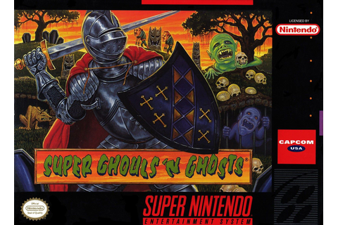 Super Ghouls n Ghosts SNES Super Nintendo
