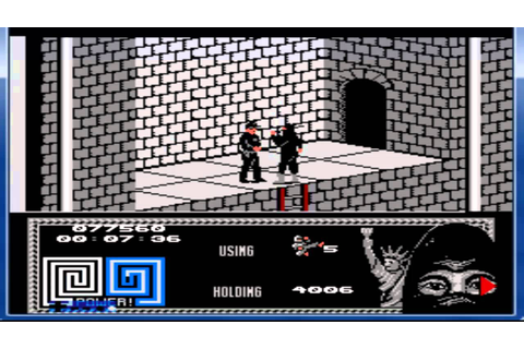 The Last Ninja NES No Deaths - YouTube