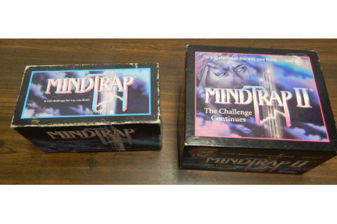 MindTrap and MindTrap 2 Board Game Review and Rules ...
