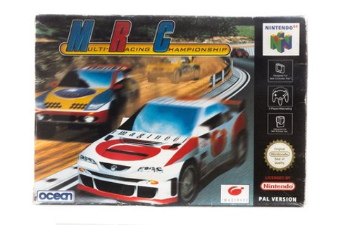 MRC Multi Racing Championship - Nintendo 64 [N64] Game ...