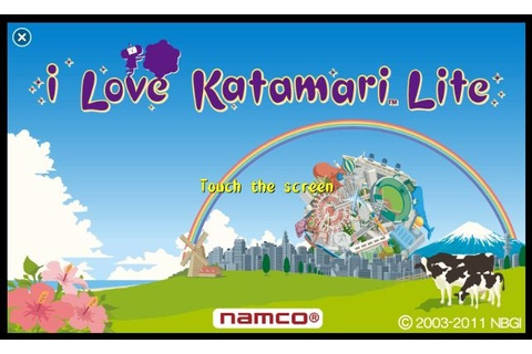 I Love Katamari: Available Now | WP7 Connect