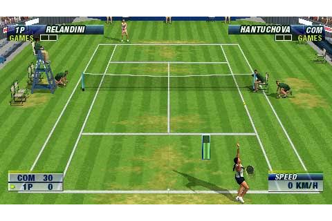Virtua Tennis - World Tour (USA) ISO