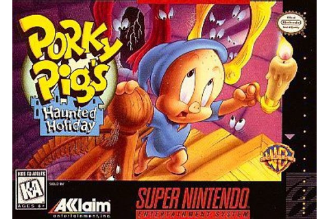 Porky Pig's Haunted Holiday (SNES / Super Nintendo) News ...