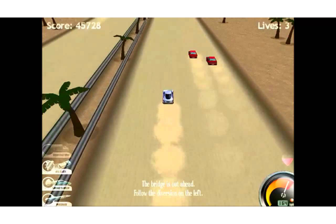 Highway Pursuit (Remake of a game) - YouTube