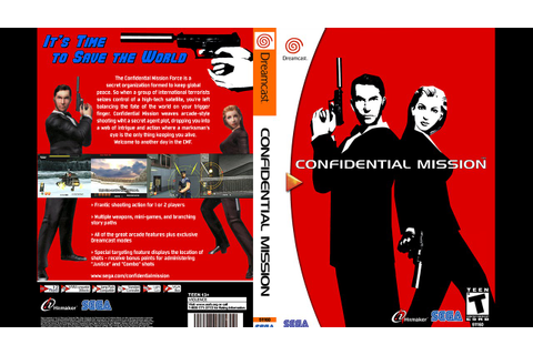 Confidential Mission Playthrough! (Dreamcast) - YouTube