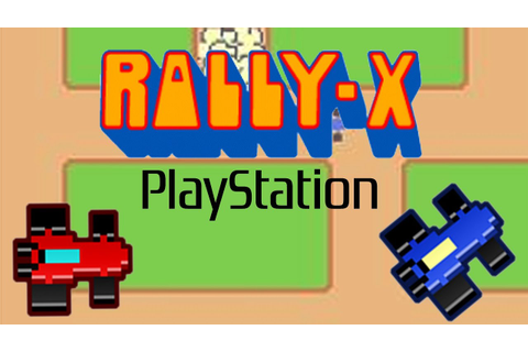 Rally-X Gameplay (PS1) - YouTube