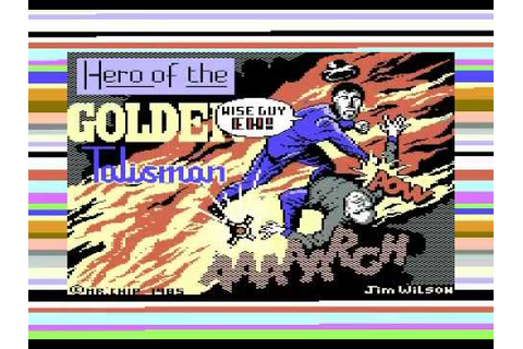 HERO OF THE GOLDEN TALISMAN MR CHIP MASTERTRONIC COMMODORE ...