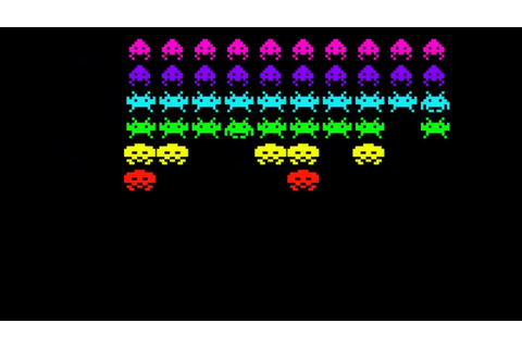 Space Invaders - Processing - YouTube