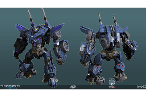 ArtStation - Transformers Universe - Onslaught, Mark ...